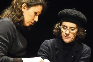 Das Boulanger Trio bei der Probe mit Olga Neuwirth zum Quasare_ Pulsare_c_Johanna Neuffer