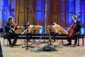 Ultraschall Berlin 2016: Konzert mit dem Minguet Quartett am 21.01.2016 in den Studios Nalepastraße (© rbb/Thomas Ernst)