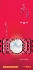 Cover Programmheft Ultraschall Berlin Festival 2020