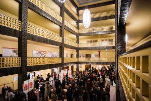 Foyer großer Sendesaal