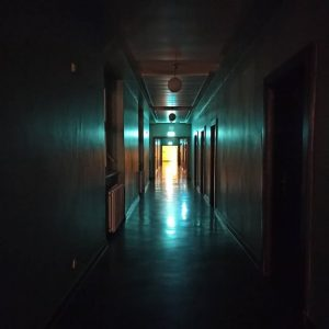 Haus des Rundfunks um 06:00